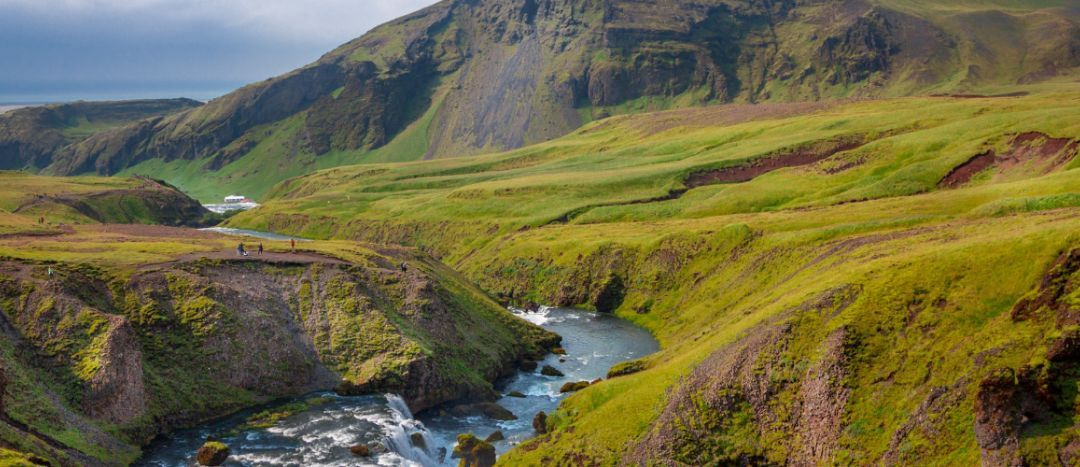 Iceland is GREEN!