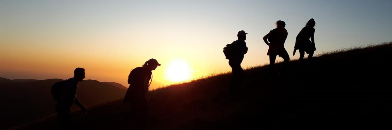 Sunset | 3 Peaks Challenge