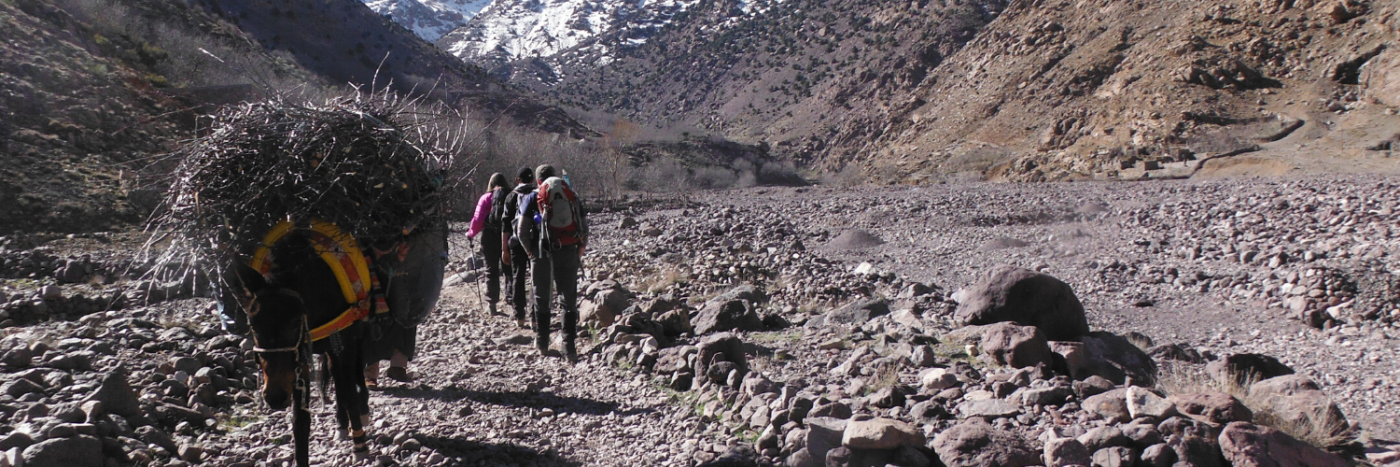 How to climb Toubkal