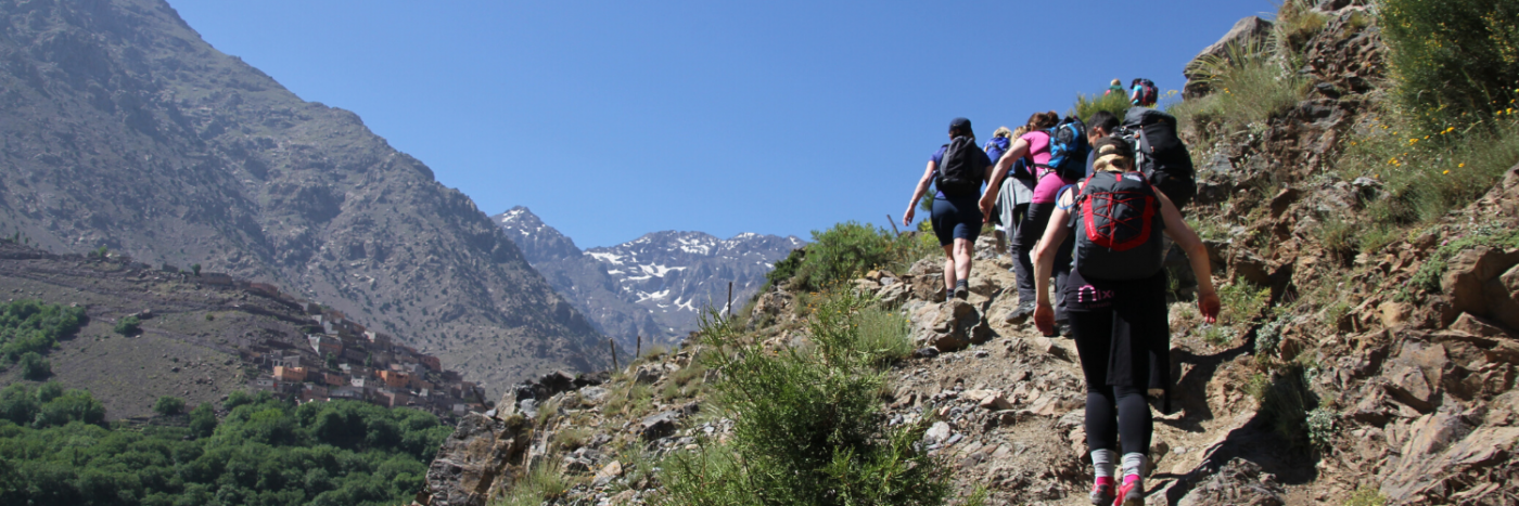 Summer Trek in Morocco and Mt Toubkal