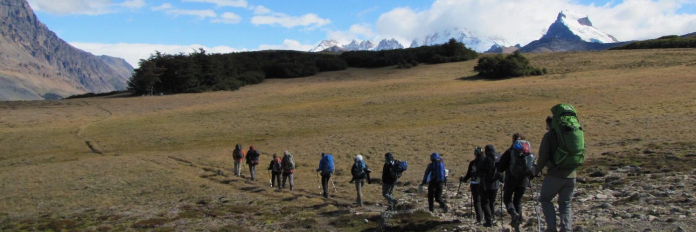 Trek Patagonia back country