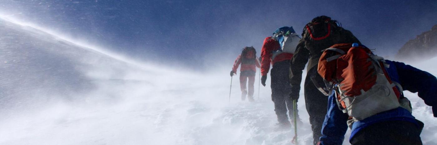 Winter Trek on Mount Toubkal