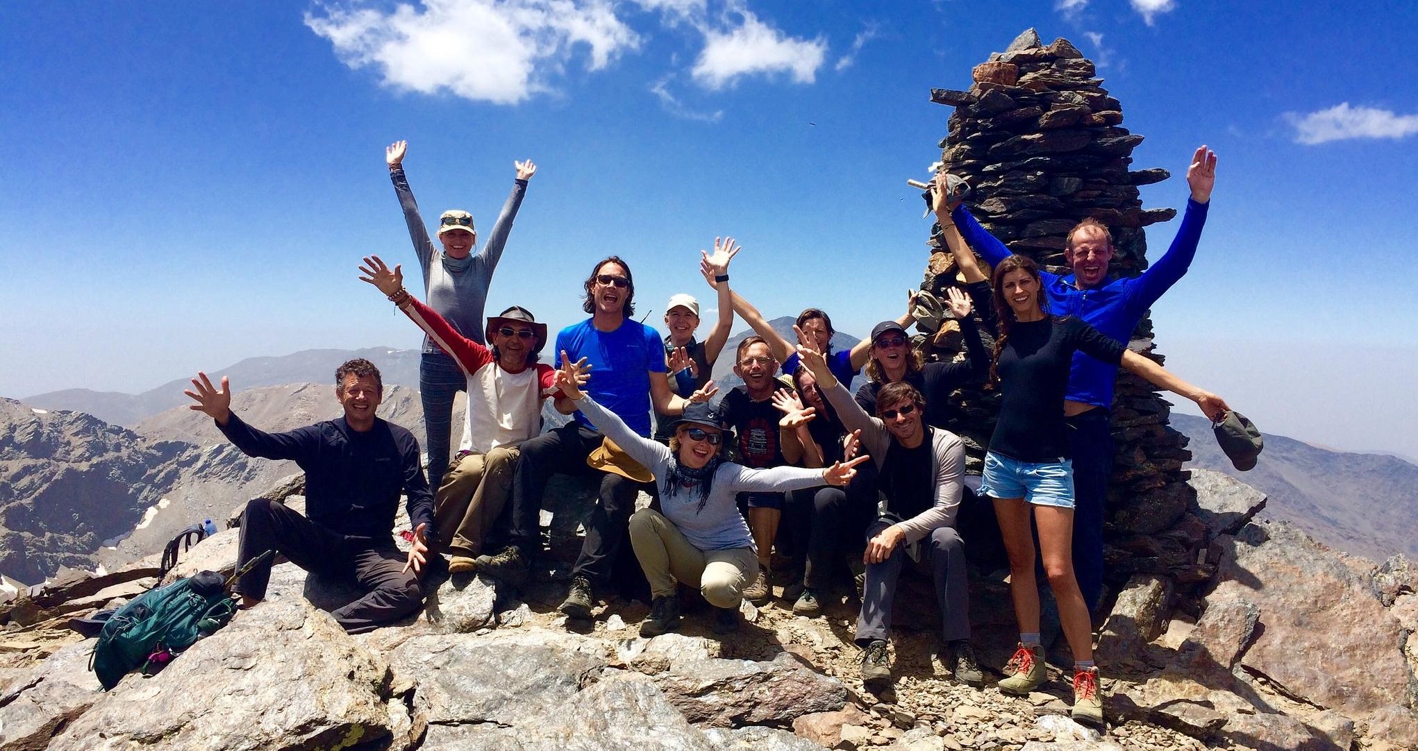 3 Peaks Challenge in Spain