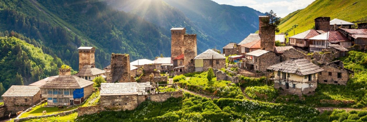 Trek Georgia & the Caucasus Mountains