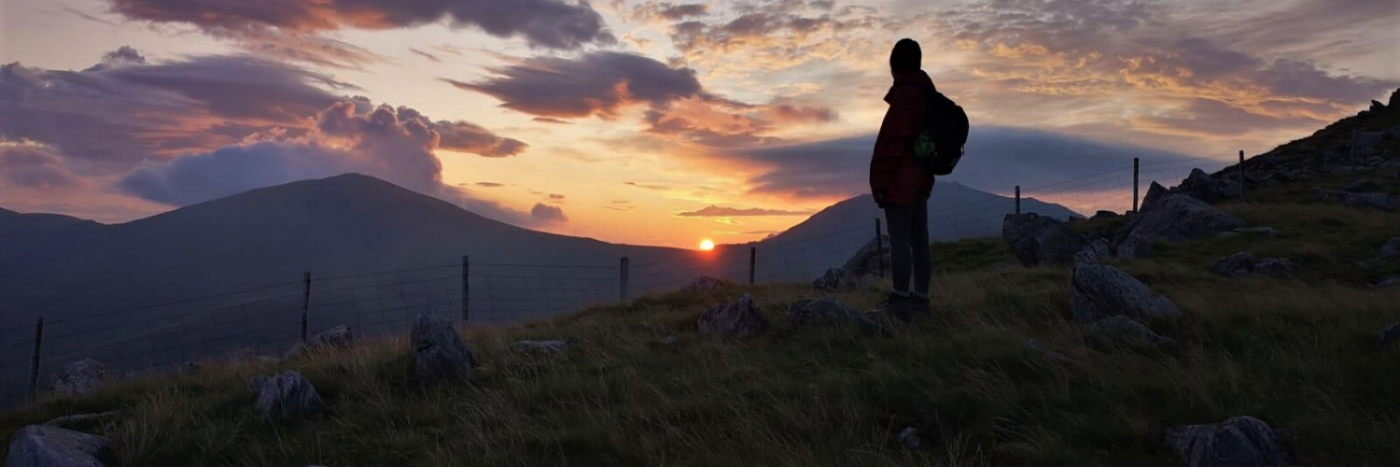Sunset on the Snowdon