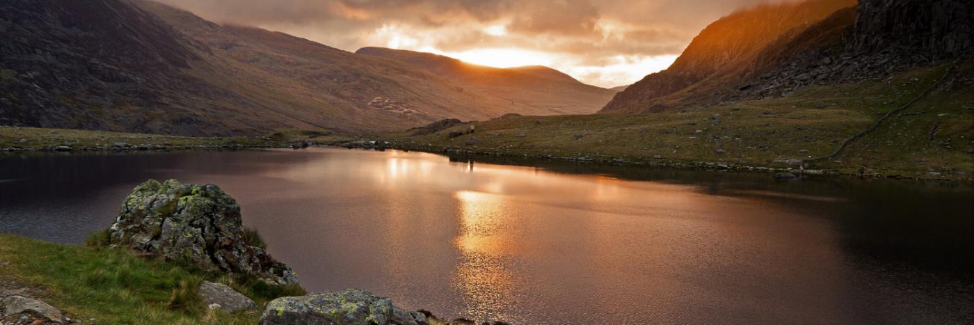 Snowdon sunset - UK Adventures