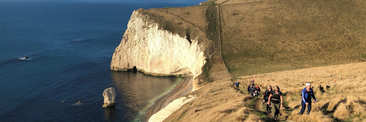 Jurassic Coast Trek with Adventurous Ewe UK and International Trekking