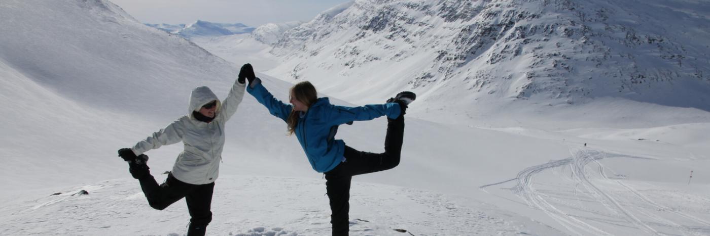 Kungsleden snowshoe Adventure