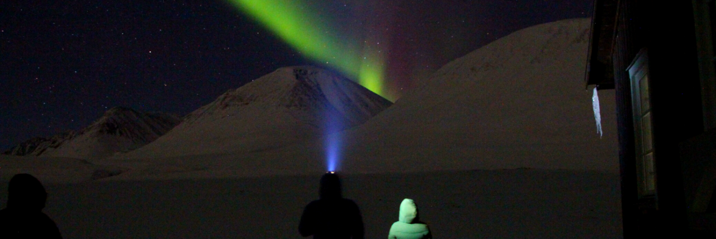 Northern Lights Trek on Kungsleden