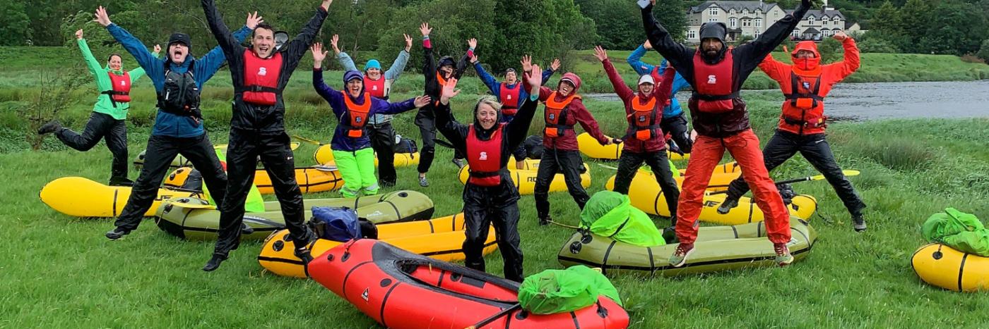 Snowdonia Packrafting Adventure