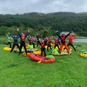 Snowdonia Pack-rafting Adventure