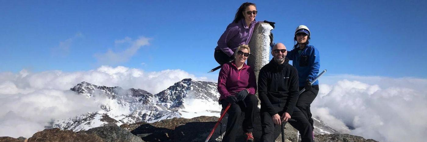 Spanish 3 Peaks Winter Trek
