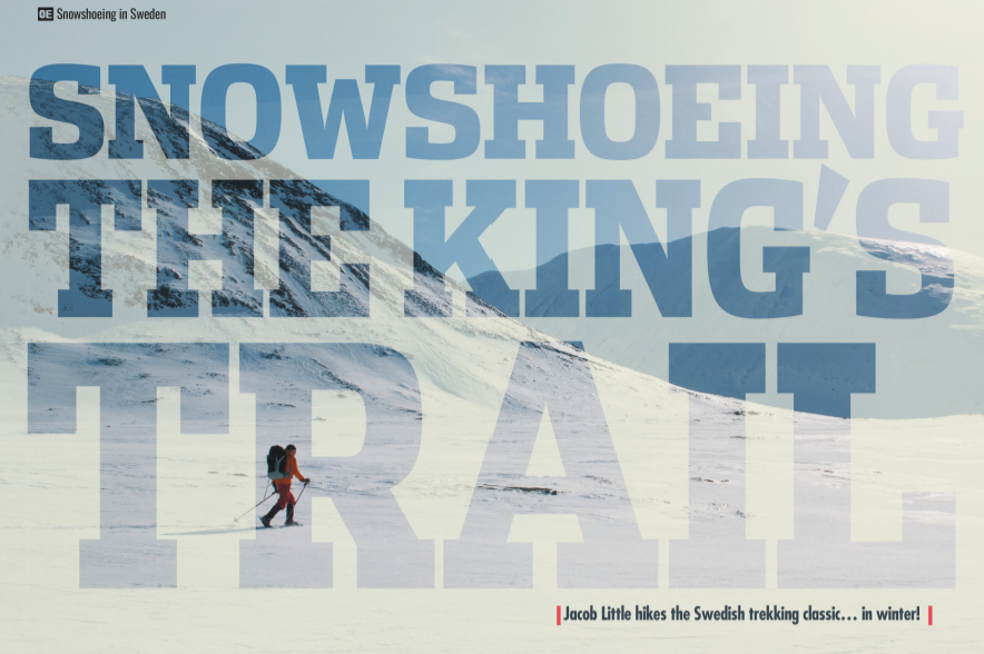 Outdoor Enthusiast Magazine Article on our Arctic Kings Trail