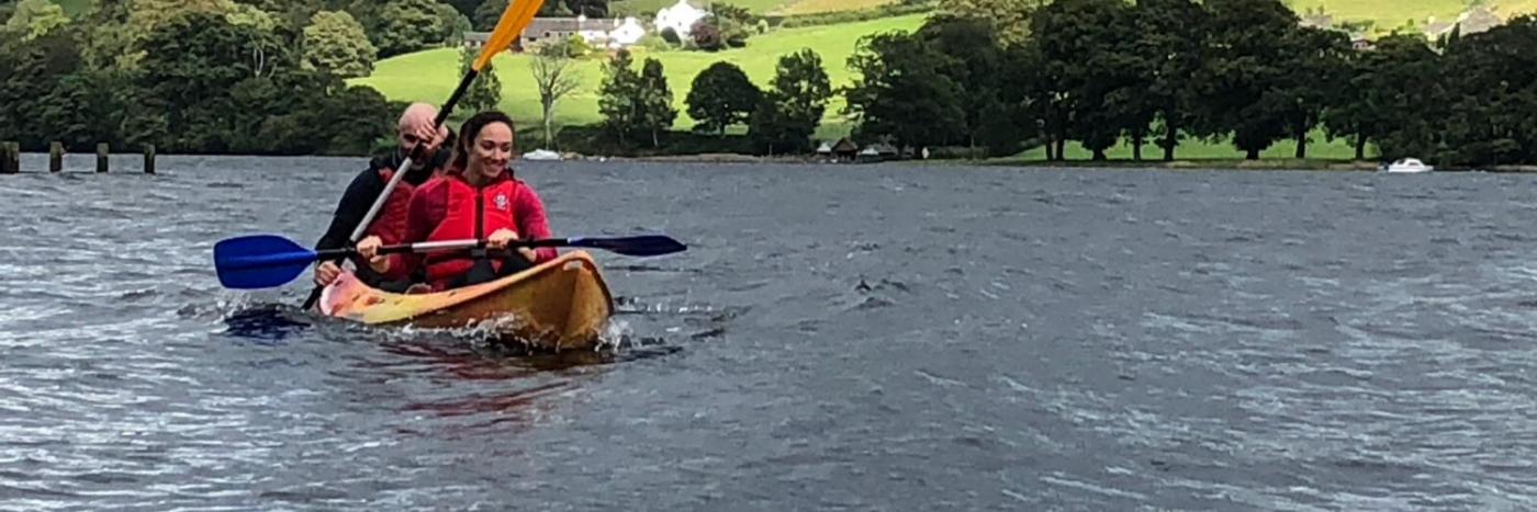 Kayak the Lake District
