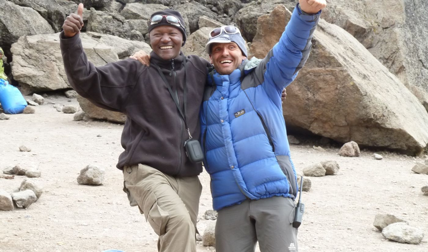 climbing Kilimanjaro with Jim from Adventurous Ewe