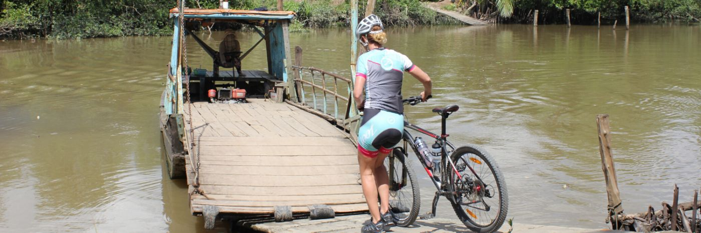 Vietnam to Cambodia Cycle