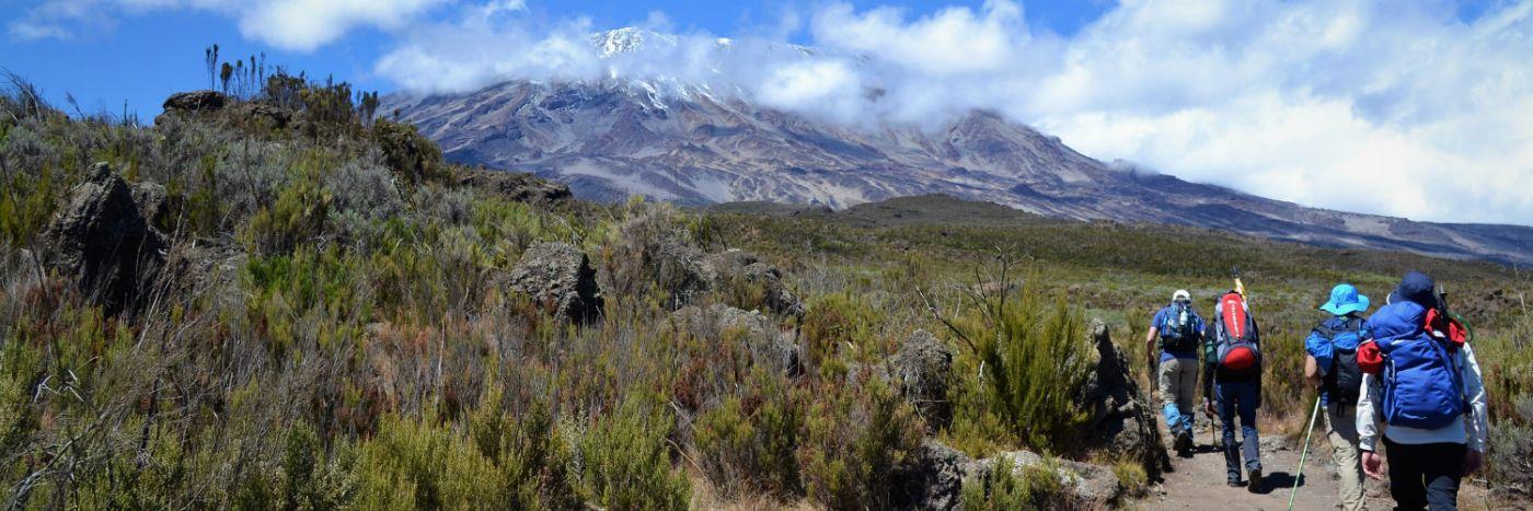 Team McKeown Mt Kilimanjaro Trek