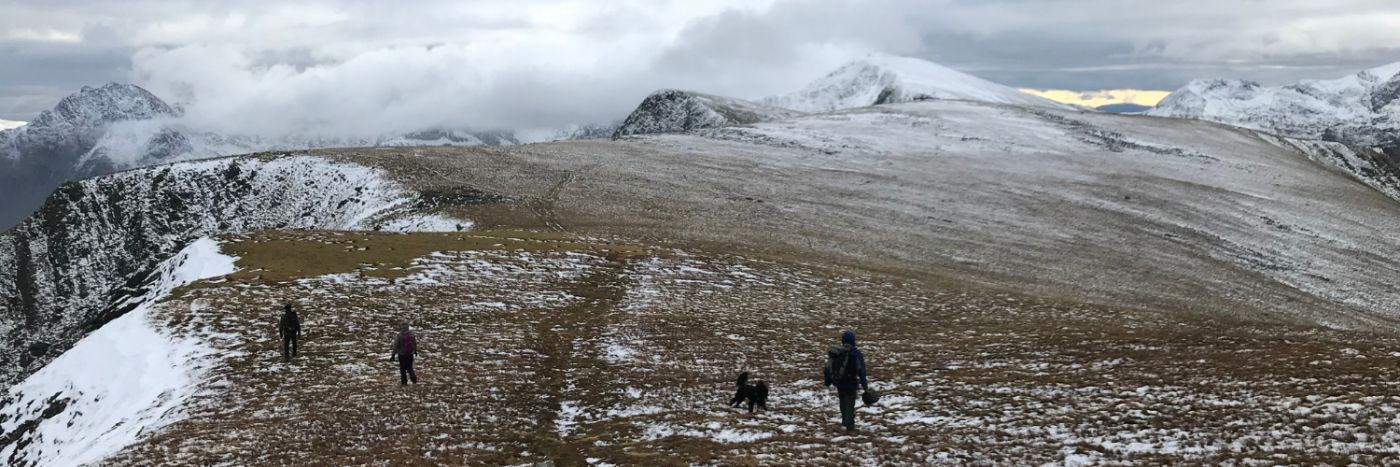 7 Summits winter walking weekend