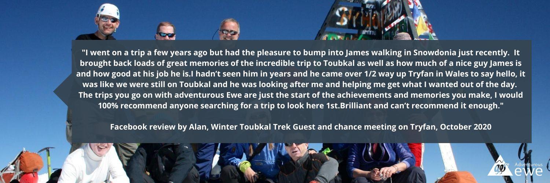 Mt Toubkal   Testimonial