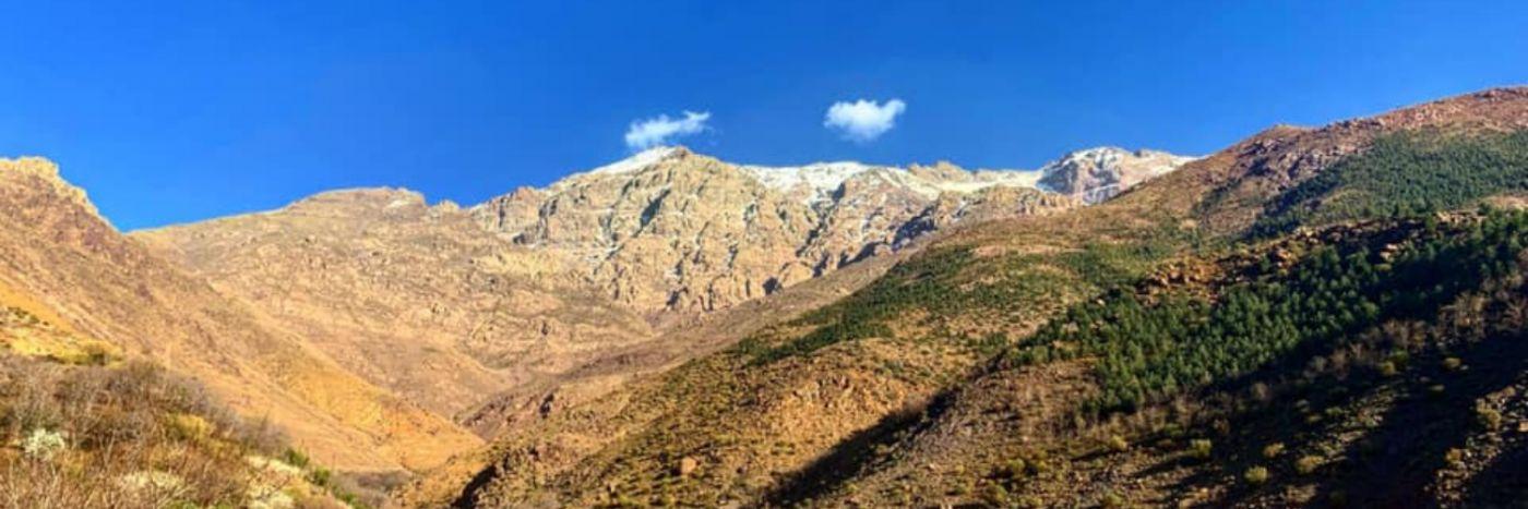 Mt Toubkal in Summer