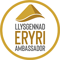 Eryri Gold Ambassador Badge