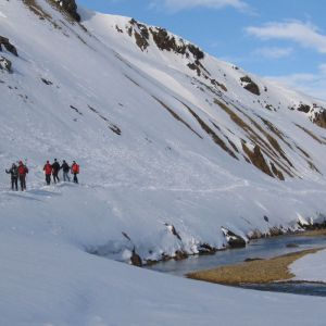 Iceland Winter Hiking Expedition